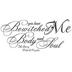 You Have Bewitched Me, Body And Soul - Wall Decal Sticker Vinyl Art Quote bedroom romantic wall sticker decal (Blue, Small) by Dilong WallsMall, http://www.amazon.com/dp/B00B0KNDB2/ref=cm_sw_r_pi_dp_72Tkrb15VKCE4