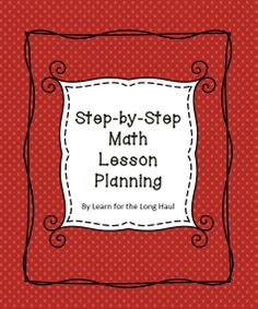 Math Lesson Plan Template