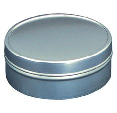 8 oz twopiece flat metal tins medium flat seamless