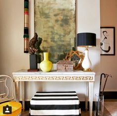 Maureen Chatfield featured in Loren Taylor's room in the Atlanta Symphony Orchestra Decorator's show house