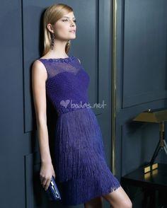 Vestido azul de Rosa Clarà - http://www.bodas.net/cat-DressList.php?tipo=2&Disenador=28