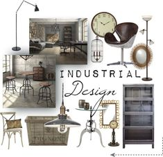 """Industrial Design"" by hana-burn1ngbr1ght on Polyvore"