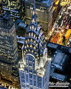 The Chrysler Building by Peter Alessandria