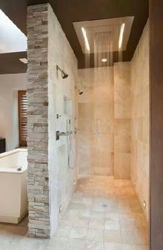 Beautiful master bathroom decor a few ideas. Modern Farmhouse, Rustic Modern, Classic, light and airy master bathroom design ideas. Bathroom makeover suggestions and master bathroom remodel some ideas. Bathrooms Remodel, Rustic Bathrooms, Trendy Bathroom, Bathroom Design, Beautiful Bathrooms, Luxury Bathroom Master Baths, Bathroom Remodel Master, Luxury Master Bathrooms, Bathroom Layout