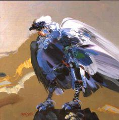 Condor by Alejandro Obregon, acrilic on canvas, cm circa 1987 Animal Paintings, Animal Drawings, Drawing Animals, Colombian Art, Painting Gallery, Art Database, Arte Pop, Cartoon Styles, American Artists