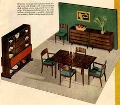 I like this dining room furniture.