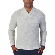 Nautica Mens 100/% Cotton 1//4 Zip Pullover Heavyweight Sweater Shirt $89