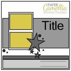 Lump, Bump and Clump!: Love my do - Paper Camellia