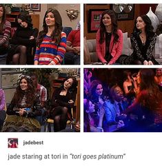 Victorious Nickelodeon, Icarly And Victorious, Jade And Beck, Dan Schneider, Tori Vega, Tv Memes, Sam And Cat, Disney Shows, Elizabeth Gillies
