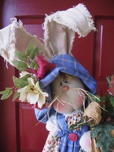 TallnSkinny Bunny E pattern by DeenasCountryHearth on Etsy