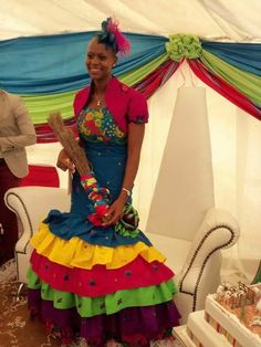 Sepedi Traditional Wedding Dresses 2020 design Pictures with the Designers Collection for Bridal Outfits Photos are shared here Sepedi Traditional Tsonga Traditional Dresses, South African Traditional Dresses, African Attire, African Fashion Dresses, African Dress, African Clothes, Traditional Wedding Attire, Traditional Outfits, South African Design