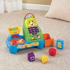Brinquedo e Brincadeira possui o mercadinho da Fisher Price para aluguel. É um brinquedo muito divertido.