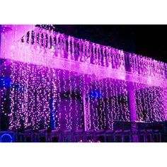 Cheap christmas light Buy Quality twinkle lights directly from China led twinkle Suppliers: x LED Twinkle Lighting 1000 LED xmas String Fairy Wedding Curtain background Outdoor Party Christmas Lights Led Curtain Lights, Icicle Lights, Twinkle Lights, String Lights, Window Lights, Xmas Lights, Party Lights, Solar Lights, Purple Sweet 16