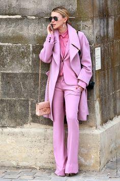 Trend Alert: Pink!: look monocromatico em tons de rosa