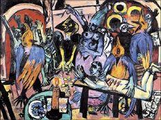 Max Beckmann - Die Hölle der Vögel (1938)