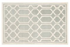 One Kings Lane - Clean-Lined Design - Caelan Rug, Gray/Ivory