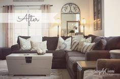 Simply Ciani: Living Room Re-style [on a budget]