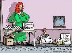 lustiges Bild 'Eier vom Bauern.jpg'- Eine von 5666 Dateien in der Kategorie 'Cartoons / Comics' auf FUNPOT.