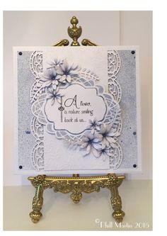 Phills' Crafty Place: Part 2 of . It all starts with plain white cardstock! Hand Made Greeting Cards, Making Greeting Cards, Greeting Cards Handmade, Xmas Cards, Birthday Cards For Women, Handmade Birthday Cards, Card Making Inspiration, Making Ideas, Spellbinders Cards