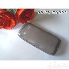 Jual Silikon Soft Case BLACKBERRY PEARL 9100 9105 | HITAM | Shira Shop
