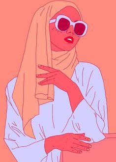 ciaramakesthings: She is a daughter a mother a sister a.: ciaramakesthings: She is a daughter a mother a sister a friend. She is not a terrorist. Say no to Trumps muslim ban. Hijab Anime, Anime Muslim, Character Art, Character Design, Hijab Drawing, Islamic Cartoon, Hijab Cartoon, Black Girl Art, Digital Art Girl