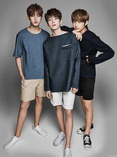 joshsua: STAR1 photoshoot (colored version) - mingyu, wonwoo, junhui