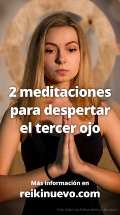 Participa desde tu casa en las 2 meditaciones guiadas para activar y desbloquear tu tercer ojo. Encuentra más información y los audios de las meditaciones en: http://www.reikinuevo.com/temas/meditacion/