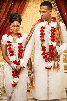 Outdoor Red and White Hindu Ceremony by Lisa Hancock Weddings - 1 - Indian Wedding Site Home - Indian Wedding Site - Indian Wedding Vendors, Clothes, Invitations, and Pictures.