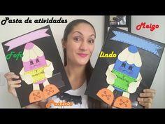 CAPAS PARA PORTFÓLIO E AVALIAÇÕES - YouTube