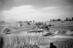 Ejército Rojo después de la liberación de Pinsk. 1944