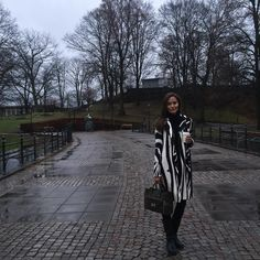 Anne Marie Kortright is #SoDVF in the DVF Libby zebra coat carrying her #DVFSecretAgent  Shop the Libby coat: http://on.dvf.com/1lKgiMz Shop the #DVFSecretAgent: http://on.dvf.com/1Ih2Vs0