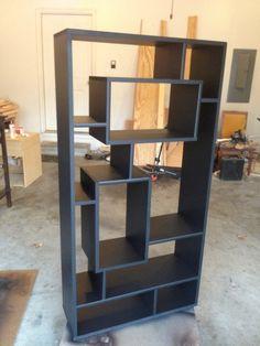 """Creative Bookshelf Designs #Bookshelf this as a stair """"railing"""""""