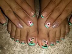 Manos y pies!! LexUñas Nails, Finger Nails, Ongles, Nail, Nail Manicure