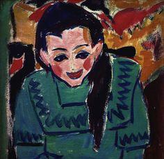 Ernst Ludwig Kirchner (1880-1938) is de belangrijkste vertegenwoordiger van het Duits expressionisme en wordt door velen gezien als voorman van Die Brücke, een kunstenaarscollectief dat van 1905 tot 1913 actief was en later uiteenviel. In de werken van Kirchner hadden de randfiguren uit de samenleving vaak een hoofdrol.