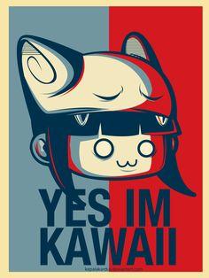 YES IM KAWAII by kepalakardus.deviantart.com on @DeviantArt