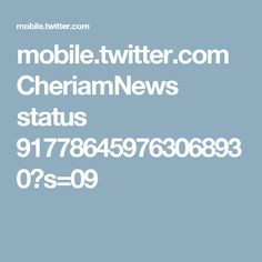 mobile.twitter.com CheriamNews status 917786459763068930?s=09