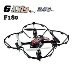 DFD F180 Mini 4 Channel 6-axis RC Helicopter 2.4 GHz w/ Gyro RC Quadcopter - Red $34.99