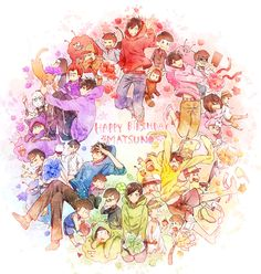 Osomatsu, Karamatsu, Choromatsu, Ichimatsu, Jyushimatsu y Todomatsu Osomatsu San Doujinshi, Ichimatsu, Anime Japan, Cute Anime Boy, The Killers, Amazing Art, Manga Anime, Pokemon, Geek Stuff