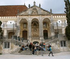 """#Coimbra is one of the """"World's Most Beautiful Universities""""   Via Travel and Leisure Magazine   September 2012  #Portugal"""