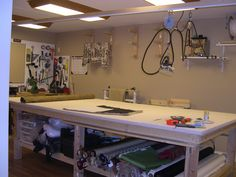 Cathy's Studio Workroom Table