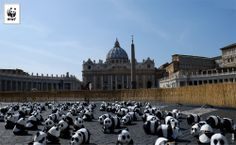Waiting #EarthHour in Rome St Peter Vatican #YourPower