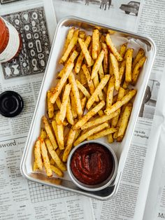 Baked Cajun spiced French fries | Oh, Ladycakes