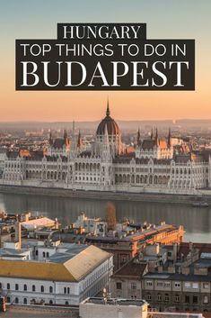 Discover the top things to do in Budapest with our American's guide to Europe. Explore Budapest Hungary on foot, from the old town, the chain bridge to the Voyage Europe, Europe Travel Guide, Travel Guides, European Destination, European Travel, Cool Places To Visit, Places To Travel, Travel Destinations, Budapest Winter