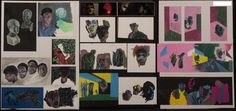 Top Art Exhibition - Painting » NZQA 2015 Kelly van der Hurk, Taieri College