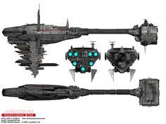 Medical frigate