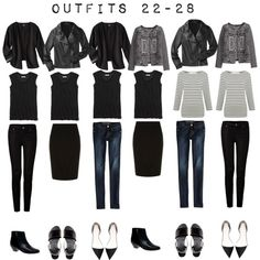 outfits 22-28 by designismymuse on Polyvore featuring H
