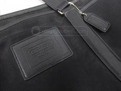 shopgoodwill.com: Coach Black Tote Bag 77007 AUTHENTICATED