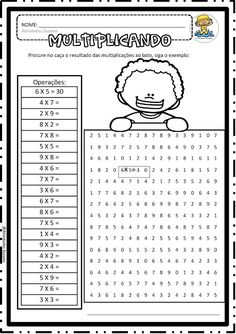 Math games 559431584966948823 - Source by Kids Math Worksheets, Maths Puzzles, Math Test, 4th Grade Math, Fun Math Games, Math Activities, Math Exercises, Math Sheets, Math Multiplication