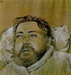 Portrait of Christian Berard - Lucian Freud