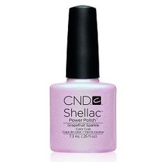 CND Shellac Grapefruit Sparkle--Just got this and I love it!